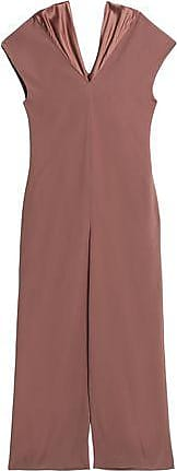 Chalayan Woman Chain-embellished Crepe Gown Brown Size 38 Hussein Chalayan