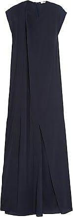 Chalayan Woman Jacquard-paneled Crepe Dress Black Size S Hussein Chalayan
