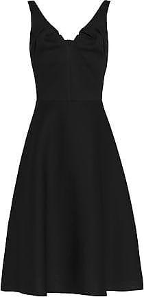 Chalayan Woman Flared Modal-scuba Dress Black Size 46 Hussein Chalayan