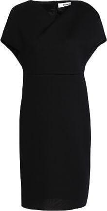 Chalayan Woman Modal-scuba Dress Black Size 38 Hussein Chalayan
