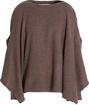 Chalayan Woman Wool Sweater Brown Size 40 Hussein Chalayan