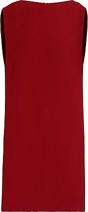 Chalayan Woman Cape-back Crepe Dress Claret Size 42 Hussein Chalayan