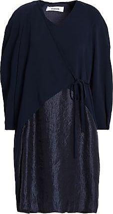 Chalayan Woman Judo Crepe Maxi Dress Navy Size 42 Hussein Chalayan
