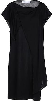 drape frame dress - Black Hussein Chalayan