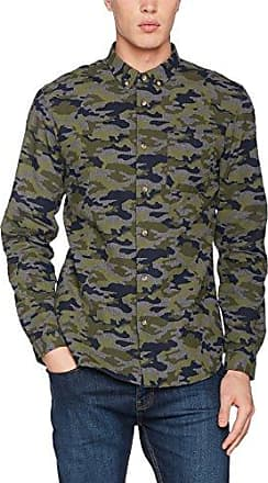 Muttley, Camisa para Hombre, Gris (Grey), X-Large HYMN London