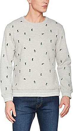 Hymn Santa Embroidered Sweatshirt, Sudadera para Hombre, Azul (Navy Navy), Small HYMN London