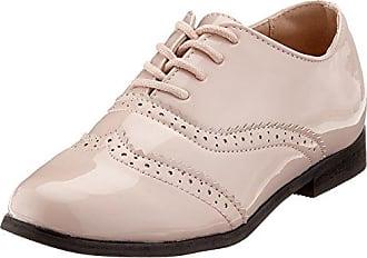 Elle Grenelle - Zapatos de cordones para mujer, color Noir Beige, talla 37