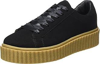 ICHI a Vigdis FW, Zapatillas para Mujer, Negro (Black 10011), 40 EU