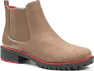 Ideal Shoes, Damen Stiefel & Stiefeletten , Schwarz - schwarz - Größe: 39