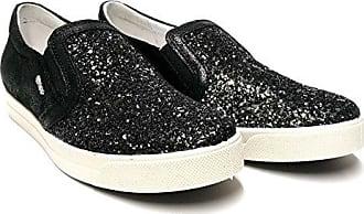6747 NERO Scarpa donna sneaker Igi&co slip-on nero made in Italy
