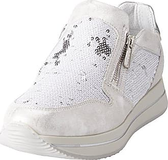 IGI&CO DAT 11473, Zapatillas para Mujer, Blanco (Bianco 11), 40 EU