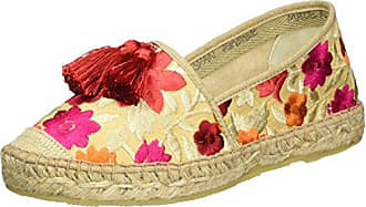 I Love candiesFlower - Alpargata Mujer, Color Azul, Talla 38 ILC I Love Candies Shoes