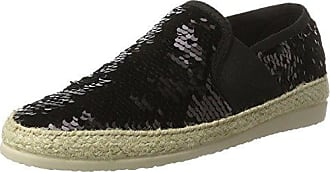 I love candies Damen Palliets Slipper, Schwarz (Carbon), 39 EU
