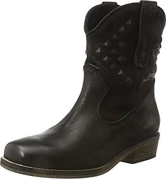 Muse - botas estilo motero Mujer , color Negro, talla 37 EU