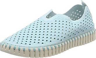 Damen Sneaker Flach, TULIP3275, Zapatillas para Mujer, Azul (See Blau 605), 36 EU Ilse Jacobsen