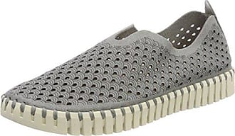Ilse JACOBSEN Cheerful01 - Chanclas de Caucho para Mujer, Color Gris - Grau (Grau (006)), Talla 38