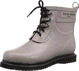Zapatos grises estilo militar Ilse Jacobsen para mujer