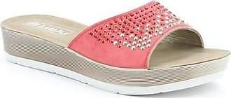 Inblu Sandali DY- 08 sandalo scalzato ciabatte donna corallo Inblu