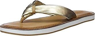 9091, Chanclas para Mujer, Dorado (Gold 16777790), 38 EU Inuovo