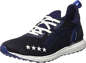 Invicta Microfiber, Sneaker a Collo Basso Unisex - Adulto, Verde (Militare), 45 EU