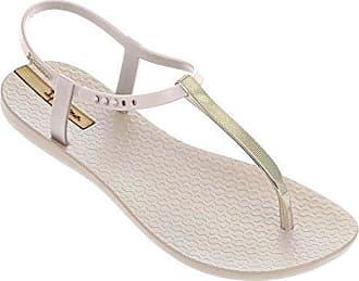 Ipanema Damen Charm V Sand Fem T-Spangen Sandalen, Mehrfarbig (Pink/Gold), 38 EU