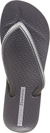 Ipanema Damen Fashion Kirey IV Fem Zehentrenner, Mehrfarbig (Grey/Silver), 40 EU