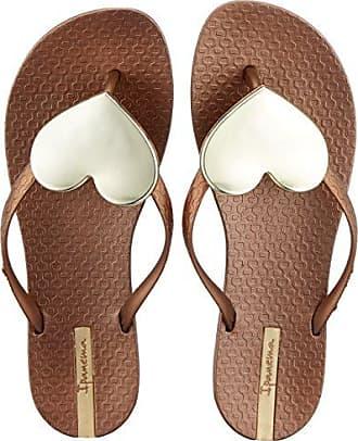 Ipanema Damen Maxi Fashion II Fem Zehentrenner, Mehrfarbig (Bronze/Gold), 35/36 EU