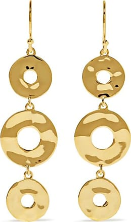 Nova 18-karat Gold Onyx Earrings - one size Ippolita