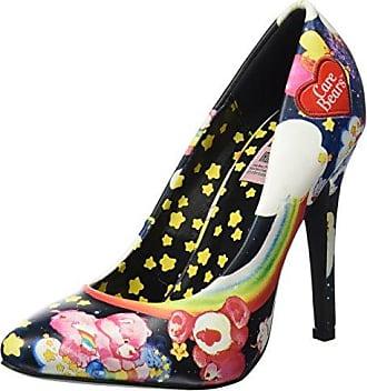 Iron Fist Scary Prairie, Schuhe, Absatzschuhe, Sandaletten mit hohem Absatz, Braun, Gelb, Female, 37