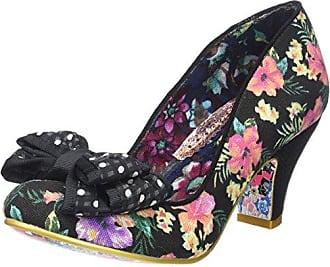 Irregular Choice Magical Maui Noir - Chaussures Escarpins Femme