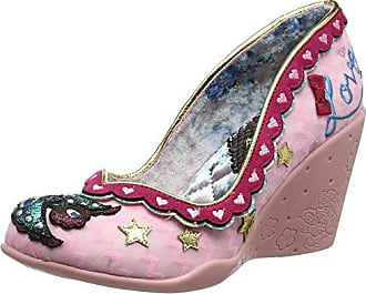 Ascot, Escarpins Bout fermé Femme - Gris (Pink Multi), 36 (3.5 UK)Irregular Choice