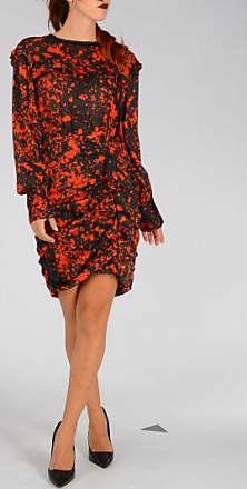 Printed Silk Twill RABEA Dress Fall/winter Isabel Marant