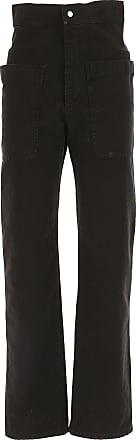 Pants for Women On Sale, Black, Viscose, 2017, FR 42 âEUR¢ IT 46 Isabel Marant