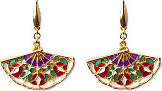 Isola Bella Gioielli Earrings for Women, Multicolor, Silk, 2017, One Size