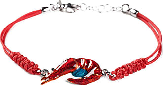 Isola Bella Gioielli Bracelet for Women, coral red, Silver 925, 2017, One Size
