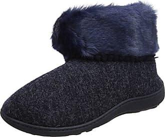 Aconca Natural Wool Slipper Booties - Chaussons à Doublure Chaude - Femme - Vert - 38 EU (5 UK)Woolsies