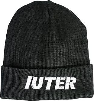 Embroidered Folded Beanie - ACCESSORIES - Hats Iuter
