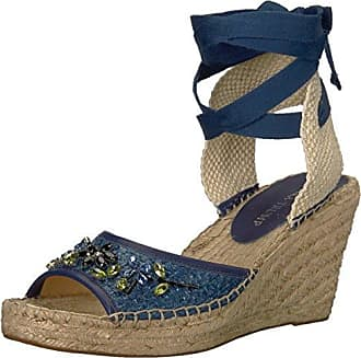 Wedges for Women On Sale in Outlet, Arielle, Electric Blue, Suede leather, 2017, US 9 (EU 39) Paloma Barcel��