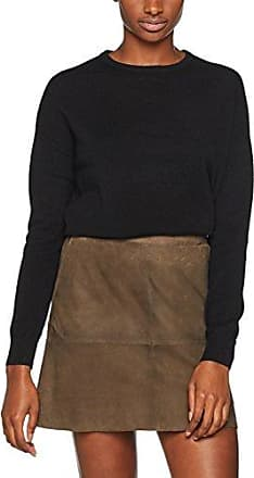 J Lindeberg Mabelle Cashmere Mix, Pull Femme, (Black 9999), 42 (Taille Fabricant:Large)