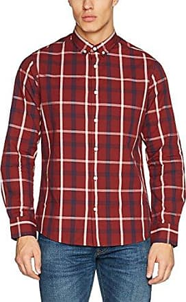 Pier Short Sleeve Check Regular Length, Chemise Casual Homme, Blanc (White Check 001), 42 (Taille Fabricant:Small46/38)Jacamo