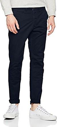 Premium Mens London Struckt Navy Trousers 789 13 DNA Straight Suit Trousers Jack & Jones