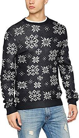 Joriceflower Knit Crew Neck, Suéter para Hombre, Multicolor (Ponderosa Pine Fit:Knit Fit), Small Jack & Jones