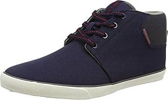 Mens Jfwtack Canvas Anthracite Low-Top Sneakers, Black, 8 UK Jack & Jones