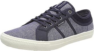 Jack & Jones Jfwrush Chambray Mix, Zapatillas para Hombre, Azul (Navy Blazer), 45 EU