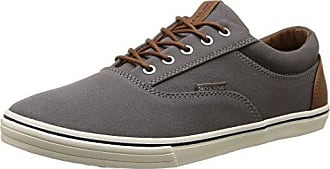 JACK & JONES Jfwgaston PU Combo, Zapatillas Para Hombre, Gris (Anthracite), 41 EU