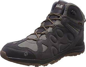 Jack Wolfskin Thunder Bay Texapore High M, Chaussures de Randonnée Hautes Homme, Noir (Phantom 6350), 40 EU