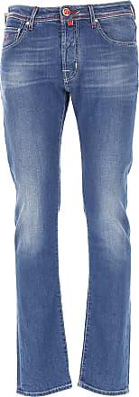 Jeans On Sale, Grey Melange, Cotton, 2017, US 35 - EU 51 US 38 - EU 54 Jacob Cohen