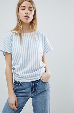 Stripe Top With Tie Back - Multi Jacqueline de Yong