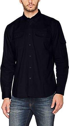 Long Sleeved Reno Shirt, Camisa Business para Hombre, Azul (Light Blue), XX-Large James Harvest