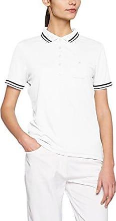 James & Nicholson Polo Ladies Vintage - Polo Mujer, Blanco (white), Small (Talla del fabricante: Small)